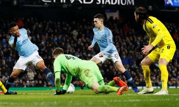 Man. City thắng đậm với tỉ số không tưởng ở bán kết League Cup - ảnh 3