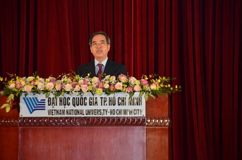 Trưởng ban Kinh tế Trung ương nhắn nhủ ĐH Quốc gia TP.HCM - ảnh 1