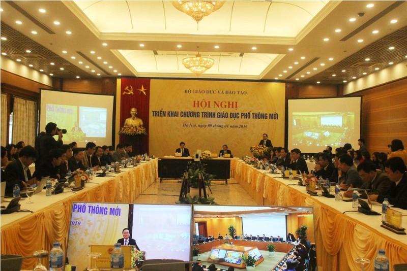 Bộ trưởng Nhạ: 'Thành bại của chương trình phụ thuộc vào GV' - ảnh 2