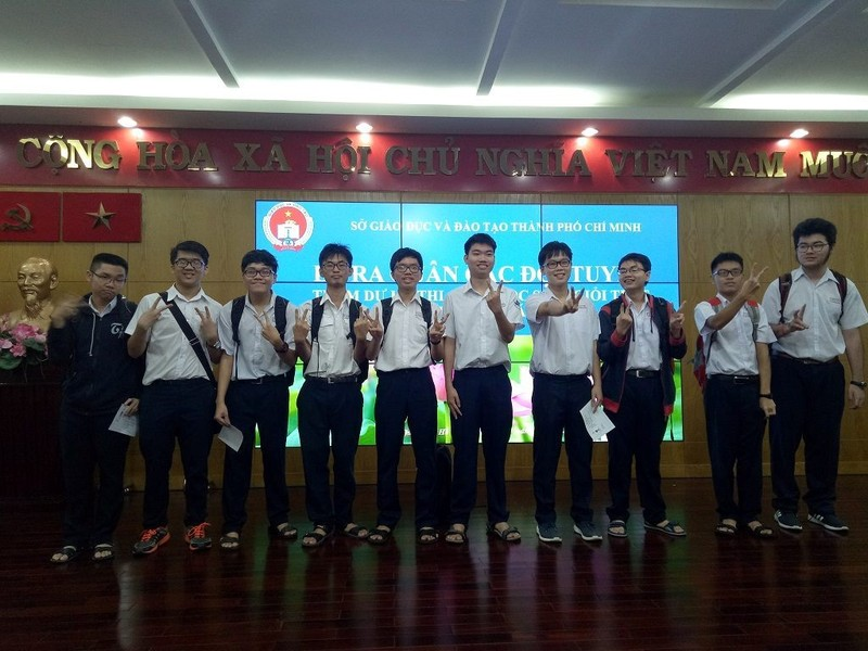 177 học sinh TP.HCM xuất quân thi học sinh giỏi Quốc gia 2019 - ảnh 1
