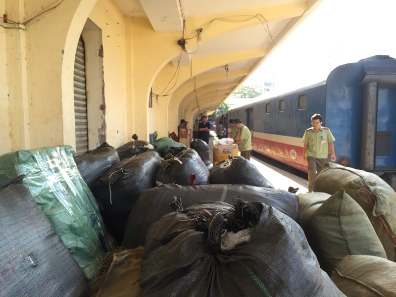 84 kiện hàng hóa tại ga Sài Gòn đang chờ chủ  - ảnh 3