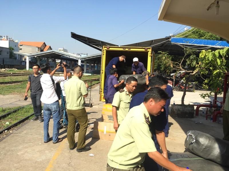 84 kiện hàng hóa tại ga Sài Gòn đang chờ chủ  - ảnh 5