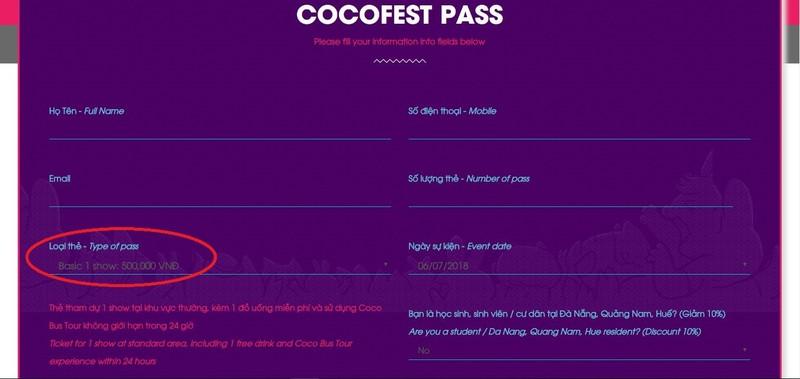Empire mập mờ bán vé xem Cocofest 2018? - ảnh 2