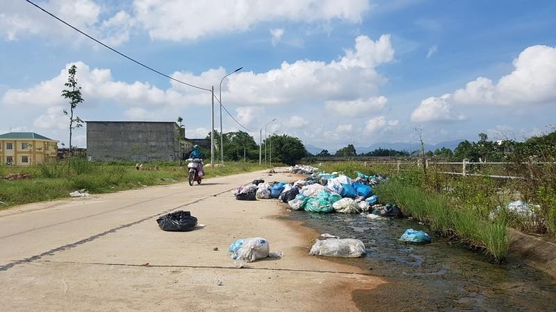 Quảng Ngãi: Quốc lộ 1 hóa thành bãi rác khổng lồ - ảnh 2