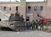 Chính phủ Syria dồn quân áp sát lính Mỹ