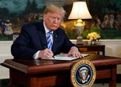 Ông Trump rút Mỹ khỏi thỏa thuận hạt nhân Iran