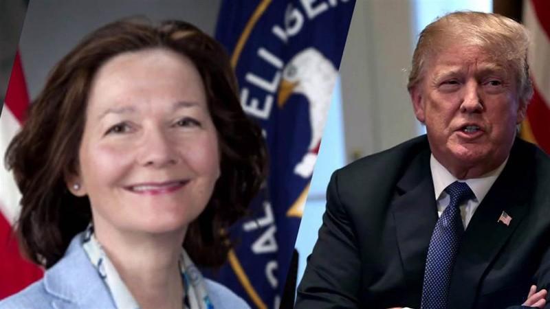 Bà Haspel được các nghị sĩ Dân chủ ủng hộ vì tin bà đủ cứng rắn đối đầu với Tổng thống Trump. Ảnh: NBC NEWS