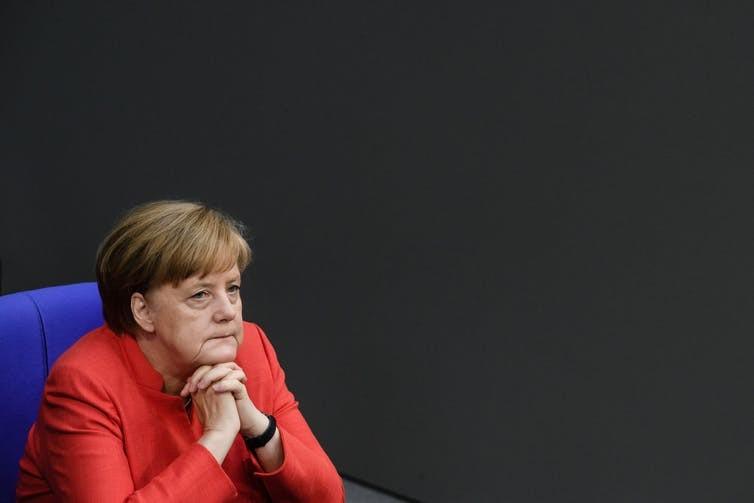 G7 sẽ là một kỳ hội nghị khó khăn với Thủ tướng Đức Angela Merkel. Ảnh: EPA