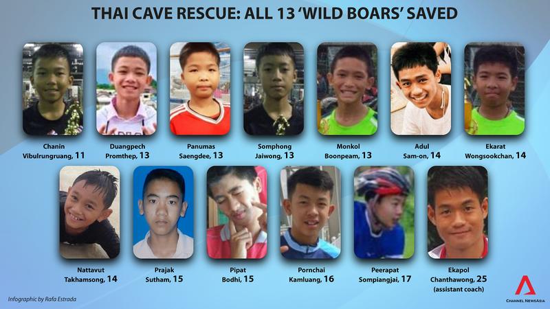 Tất cả mọi người trong hang động Thái Lan đã ra ngoài