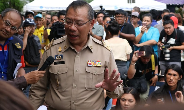Chỉ huy cứu hộ Narongsak Osotthanakorn được biết là người có phong cách làm việc nghiêm túc và quyết liệt. Ảnh: CNN
