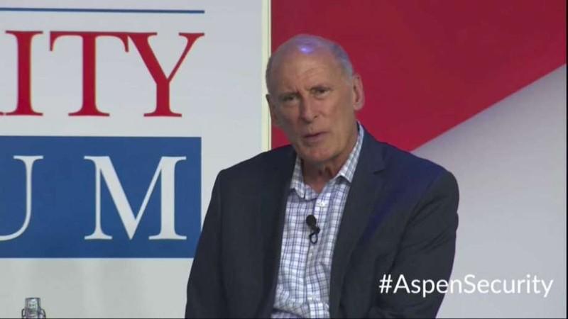 Giám đốc Tình báo Quốc gia (DNI) Dan Coats tại Diễn đàn An ninh Aspen ngày 18-7. Ảnh: AP
