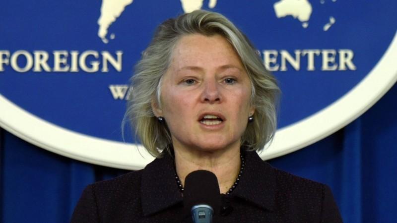 Quyền Trợ lý Ngoại trưởng Mỹ phụ trách các vấn đề Đông Á và Thái Bình Dương Susan Thornton. Ảnh: US MISSION TO THE EUROPEAN UNION
