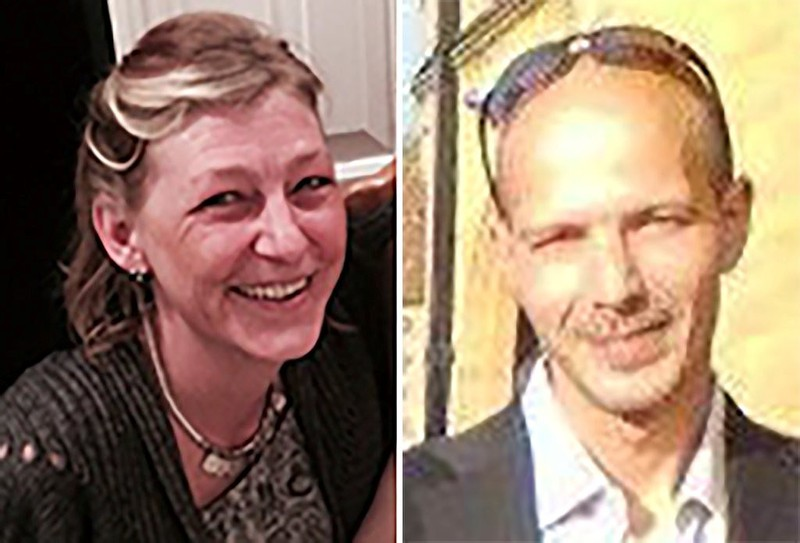 Bà Dawn Sturgess và ông Charles Rowley bị dính chất Novichok 3 tháng sau khi hai cha con cựu điệp viên Skripal bị đầu độc. Bà Sturgess đã chết 1 tuần sau đó. Ảnh: GETTY IMAGES