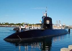 Tàu ngầm tấn công hạt nhân Kuroshio của Nhật. Ảnh: WIKIPEDIA