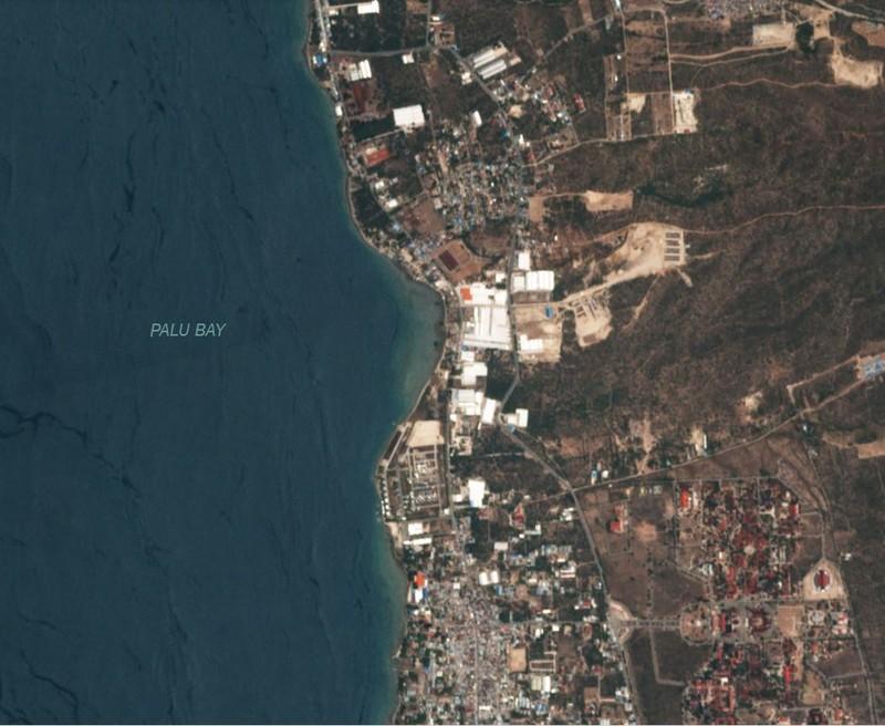 Chùm ảnh vệ tinh chụp Palu trước và sau động đất, sóng thần - ảnh 6