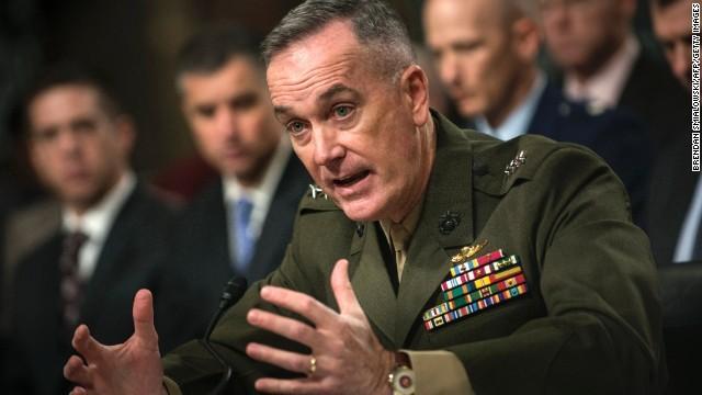 Tướng Joseph Dunford – Chủ tịch Hội đồng Tham mưu trưởng liên quân Mỹ cũng sẽ về hưu năm 2019. Ảnh: CNN
