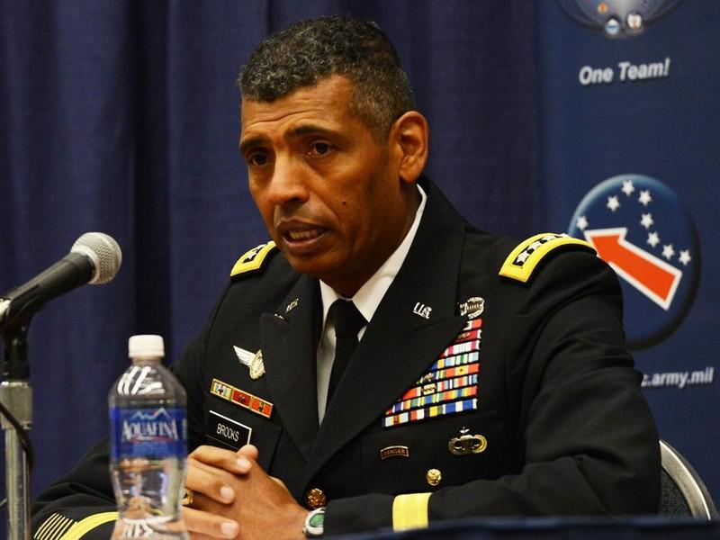 Tướng Lục quân bốn sao Vincent Brooks, Tư lệnh quân đội Mỹ ở Hàn Quốc được dự đoán sẽ nhận chức Phó Chủ tịch Hội đồng Tham mưu trưởng. Ảnh: BLACKPAST