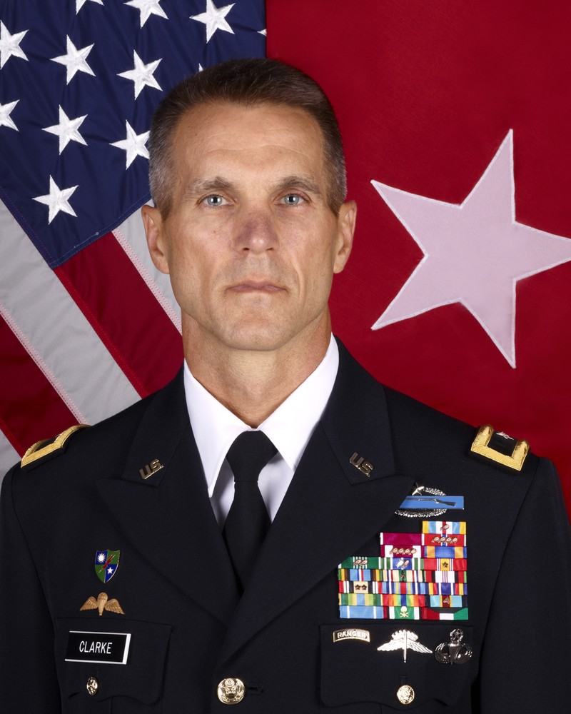 Trung tướng Lục quân Richard Clarke đã được chọn lãnh đạo Bộ Chỉ huy Các chiến dịch đặc biệt của Mỹ. Ảnh: WIKIPEDIA