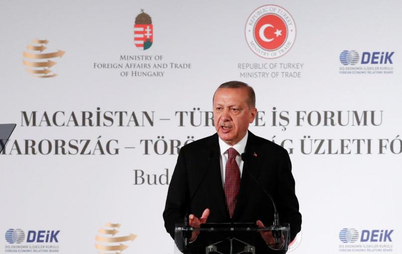 Tổng thống Thổ Nhĩ Kỳ Recept Tayyip Erdogan nói sẽ điều tra đến cùng vụ nhà báo Khashoggi mất tích. Ảnh: REUTERS