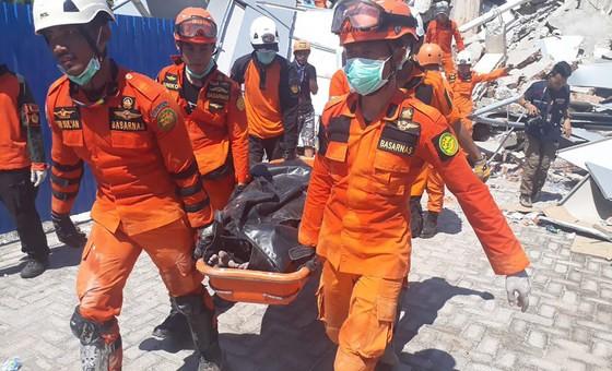 Indonesia chấm dứt công cuộc tìm kiếm chính thức các nạn nhân tại Sulawesi. Ảnh: BNPB