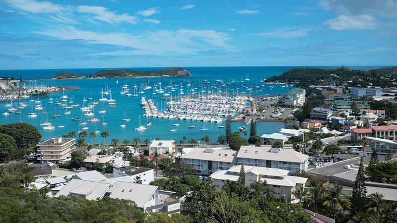 Cảng thủ đô Noumea của New Caledonia. Ảnh: AP