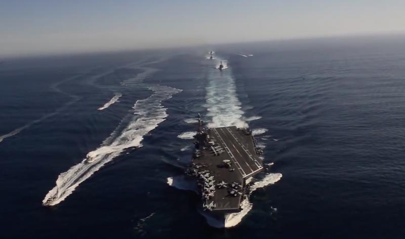 Lên kế hoạch bảo vệ tàu sân bay USS Carl Vinson - ảnh 1