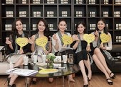 Hoa hậu, Á hậu cưỡi siêu xe tặng sách xuyên Việt