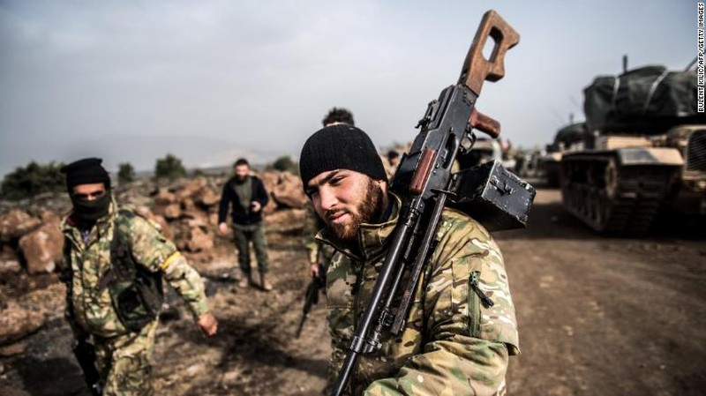 Quân tình nguyện tại Syria đối đầu quân Thổ Nhĩ Kỳ - ảnh 2