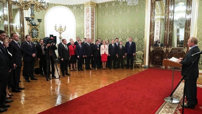 Ông Putin cảm ơn nội các trước lễ nhậm chức tổng thống - ảnh 1