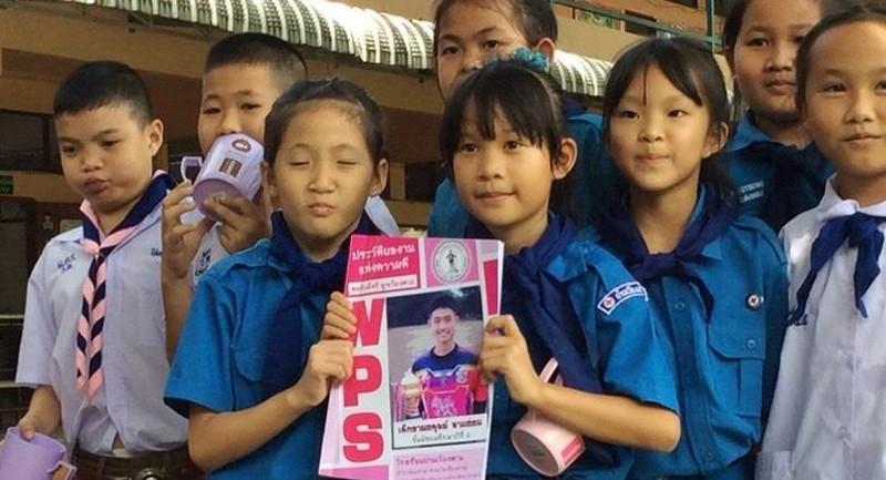 'Viên ngọc quý' trong đội bóng nhí Thái Lan - ảnh 3