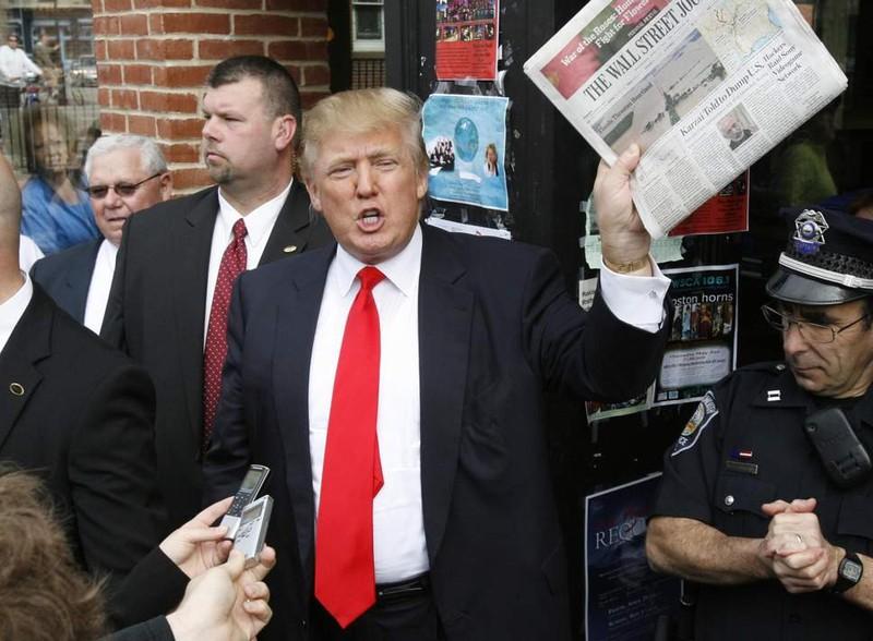 300 tờ báo lên án cuộc chiến chống truyền thông của ông Trump - ảnh 2