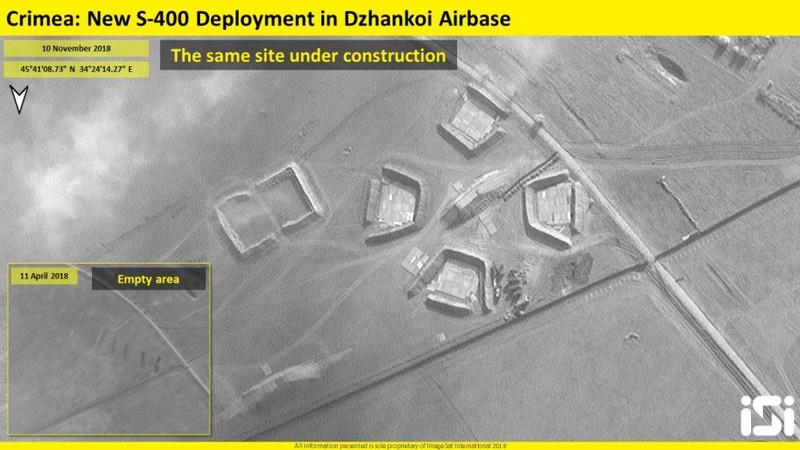 Ảnh vệ tinh tiết lộ vị trí Nga triển khai S-400 ở Crimea - ảnh 1