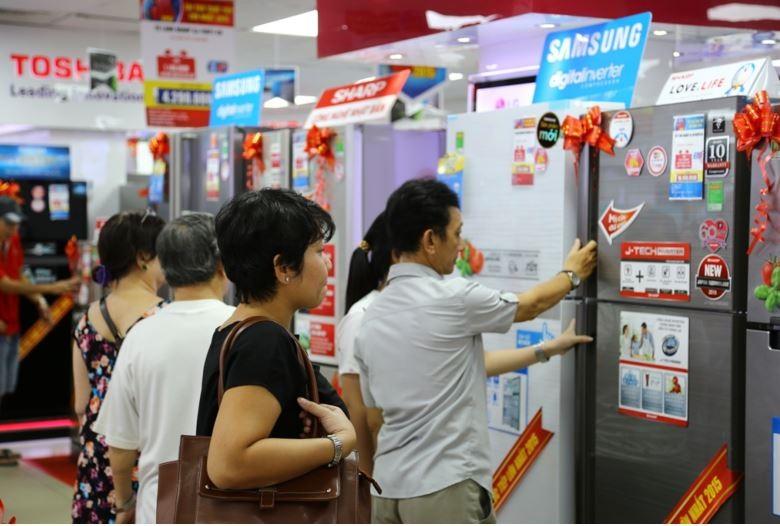Thị trường điện máy sôi động mùa nắng nóng - ảnh 3