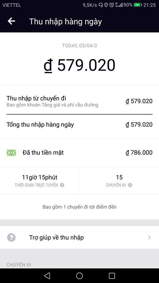 Grab bỗng nhiên sập mạng, Uber tăng giá sốc  - ảnh 3