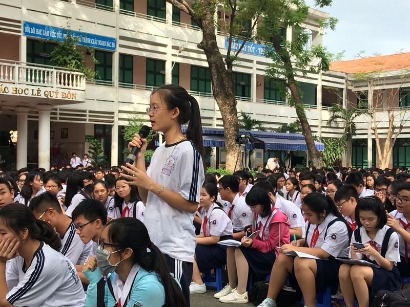 Trường THPT Mạc Đĩnh Chi tăng chỉ tiêu tuyển sinh lớp 10 - ảnh 1