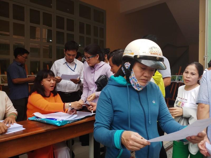 Trường chuyên Trần Đại Nghĩa phát phiếu thi khảo sát vào lớp 6 - ảnh 5