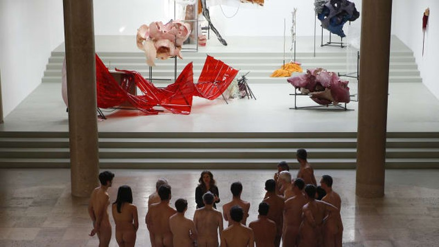 Bảo tàng Paris mở cửa đón khách khỏa thân - ảnh 1