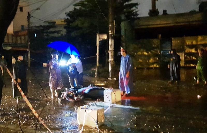 Khởi tố bị can vụ dây điện rơi làm chết người ở Đà Nẵng - ảnh 2