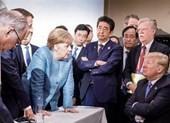 Bức ảnh ông Trump 'đối đầu' lãnh đạo G7 gây sốt cộng đồng mạng