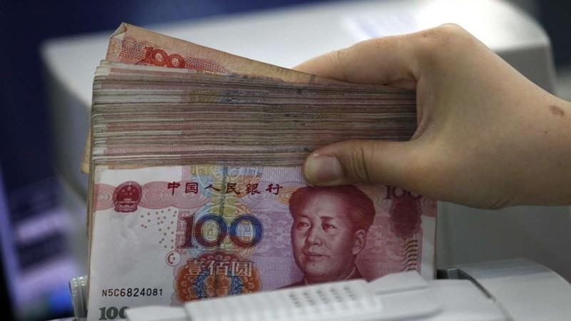 Đồng Nhân dân tệ của Trung Quốc. Ảnh: SCMP