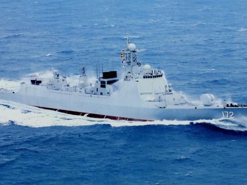 Tàu khu trục lớp Lữ Dương của Trung Quốc. Ảnh: NAVAL TECHNOLOGY