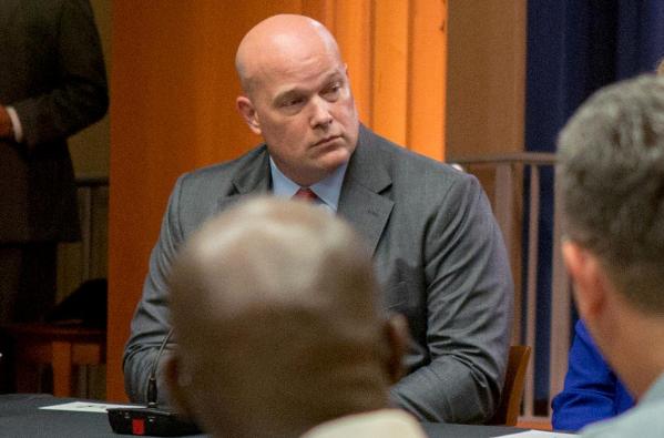 Chánh Văn phòng Bộ Tư pháp Matthew Whitaker tạm thời thay thế vị trí Bộ trưởng Tư pháp của ông Jeff Sessions để lại. Ảnh: REUTERS
