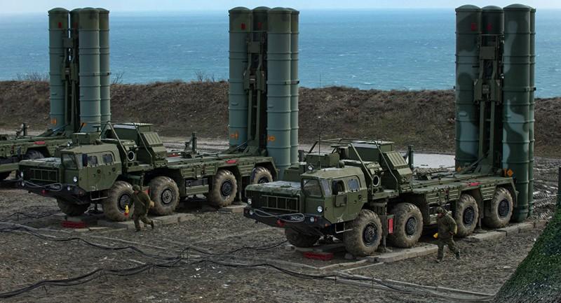 Nga vừa tập trận bắn đạn thật với S-400 tại Crimea. Ảnh: SPUTNIK