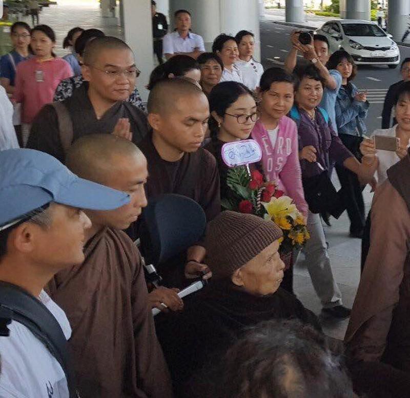 Thiền sư Thích Nhất Hạnh đến Đà Nẵng - ảnh 1