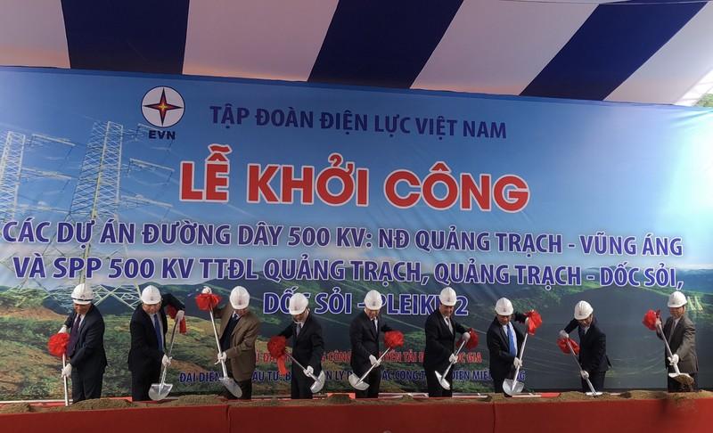 Khởi công dự án điện gần 12.000 tỉ đi qua miền Trung - ảnh 2