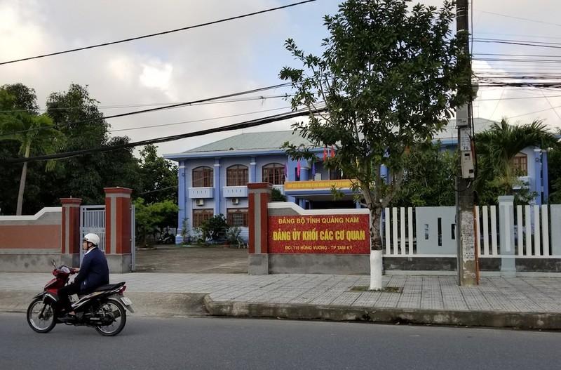 Kỷ luật Phó bí thư Đảng ủy khối các cơ quan Quảng Nam - ảnh 1