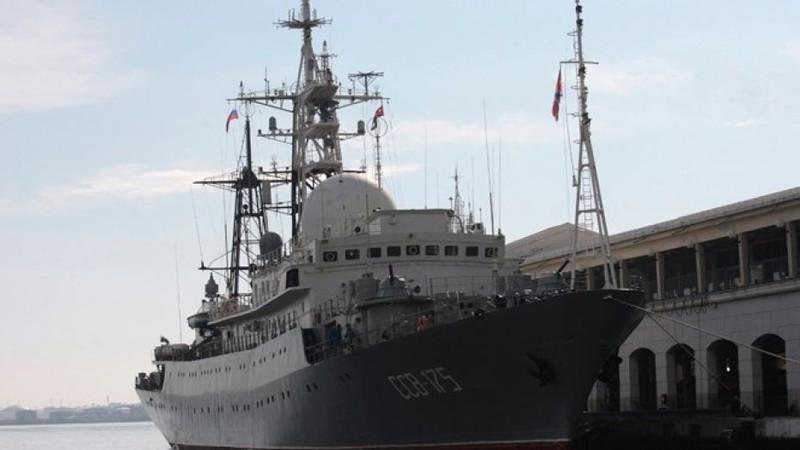 Tàu do thám Nga tiến sát Bờ Đông nước Mỹ - ảnh 1