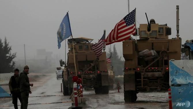 Mỹ bắt đầu rút khí tài quân sự khỏi Syria - ảnh 1