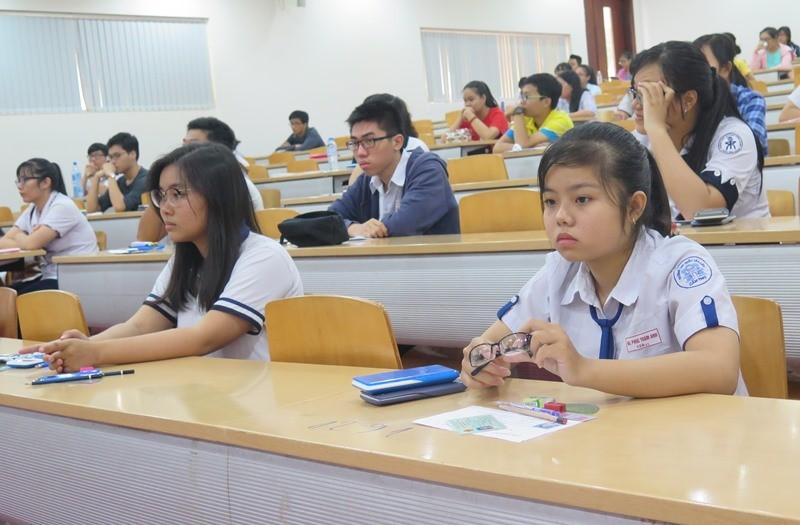 Bắt đầu đăng ký thi đánh giá năng lực vào ĐH Quốc gia TP.HCM - ảnh 1