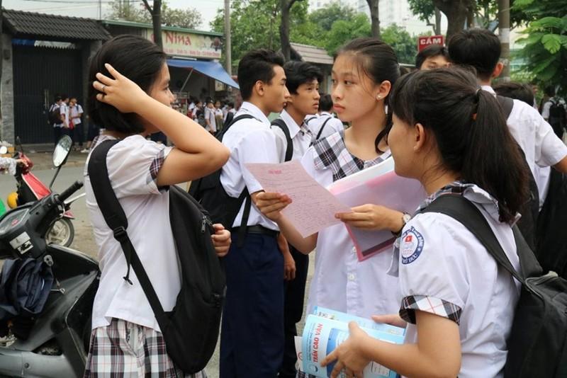 TP.HCM: 543 thí sinh bỏ thi lớp 10 - ảnh 1